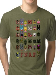 20 Nights at Freddy's Tri-blend T-Shirt