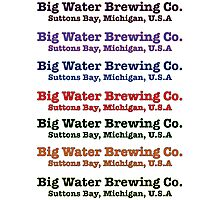 Big Water Brewing Co. Photographic Print