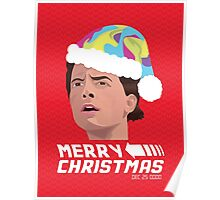 BACK TO THE FUTURE CHRISTMAS Poster