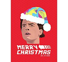 BACK TO THE FUTURE CHRISTMAS Photographic Print