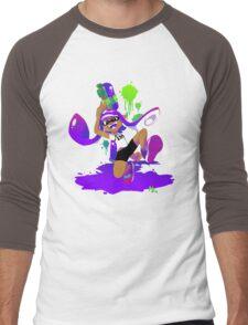 Splatoon Inkling (Purple) Men's Baseball ¾ T-Shirt