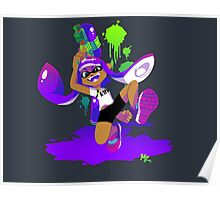 Splatoon Inkling (Purple) Poster