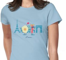 L'amour Womens Fitted T-Shirt