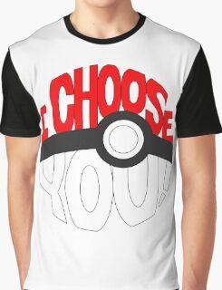 pokemon i choose you! Graphic T-Shirt