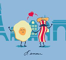 L'amour by fishbiscuit