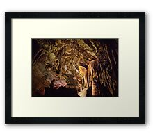 Grand Palace of Lehman Caves Framed Print
