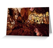 Above and beyond – Grand Palace, Lehman Caves Greeting Card