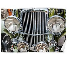 Duesenburg Grill and Headlights  Poster