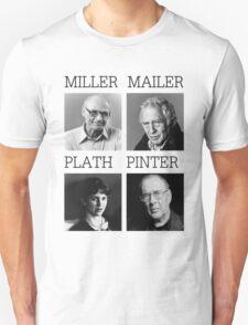Manic Street Preachers - Faster \ Miller, Mailer, Plath and Pinter T-Shirt