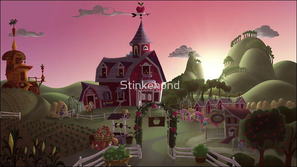 Sweet Apple Acres, Dawn by Stinkehund