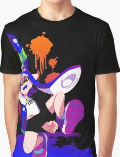 Splatoon Inkling (Blue) Graphic T-Shirt