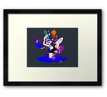 Splatoon Inkling (Blue) Framed Print