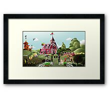 Sweet Apple Acres, Noon Framed Print
