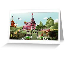 Sweet Apple Acres, Noon Greeting Card