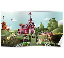 Sweet Apple Acres, Noon Poster
