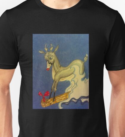 Christmas Fun with Rudolf Unisex T-Shirt