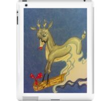 Christmas Fun with Rudolf iPad Case/Skin