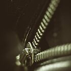Zipper iphone Case by BobbiFox