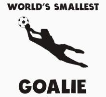 World's Smallest Goalie Soccer Kids Tee