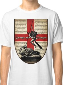 George and the Dragon (Quidditch Revised) Classic T-Shirt