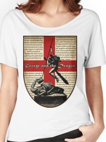 George and the Dragon (Quidditch Revised) Women's Relaxed Fit T-Shirt