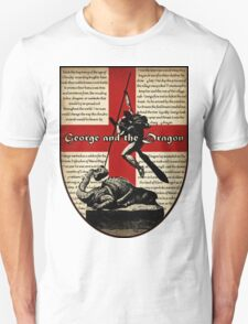 George and the Dragon (Quidditch Revised) T-Shirt
