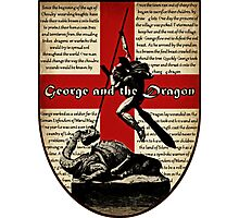 George and the Dragon (Quidditch Revised) Photographic Print