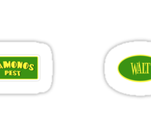 Vamonos Walt Sticker