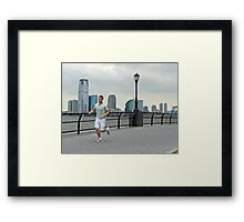 A New Yorker  Framed Print