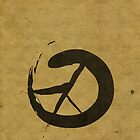Peace Calligraphy by Steve Campbell
