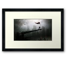 Spirit of Defiance Framed Print