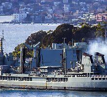 HMAS Success  by Doug Cliff