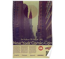 New York Comic-Con 2012 Poster Poster