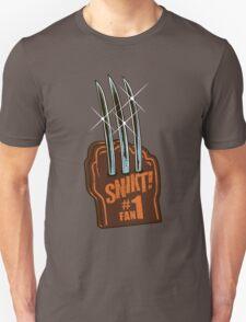 #1 Wolvie Fan Brown Costume T-Shirt