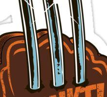 #1 Wolvie Fan Brown Costume Sticker
