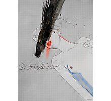poetess (Bukowski's muse) Photographic Print