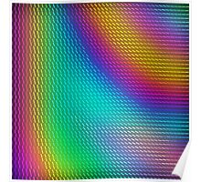 Clustered Colors Poster