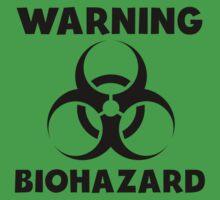 Warning Biohazard Kids Tee