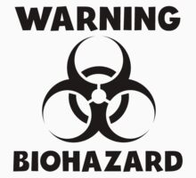 Warning Biohazard One Piece - Long Sleeve