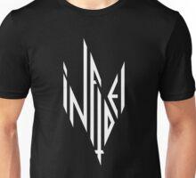 INFIDEL / Logo / White Unisex T-Shirt