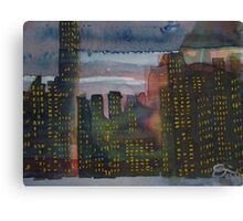Corporate Sunset Canvas Print