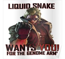 Liquid Snake wants YOU! Poster