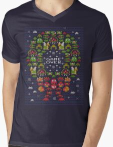 Gamer's X-mas Mens V-Neck T-Shirt