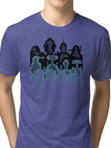 ROBOT CITY! Tri-blend T-Shirt