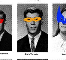 Superhero Academy Sticker