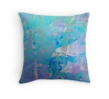 The magical world of the dolphins Throw Pillow