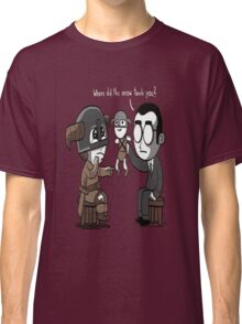 That Poor Traumatized Dovahkiin... Classic T-Shirt