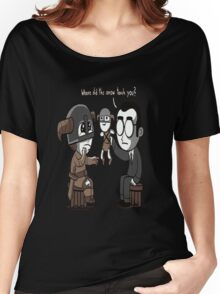 That Poor Traumatized Dovahkiin... Women's Relaxed Fit T-Shirt