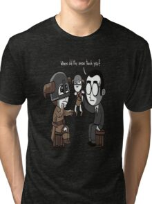 That Poor Traumatized Dovahkiin... Tri-blend T-Shirt