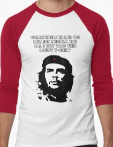 Che Guevara - Communism killed 100 million people Men's Baseball ¾ T-Shirt